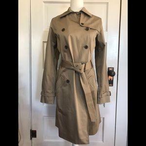 Eddie Bauer Trench Coat Size Medium